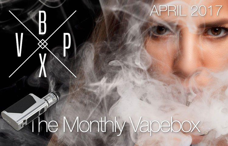 Vape Box April 2017 - The Goodies Are Here! - Spinfuel VAPE Magazine