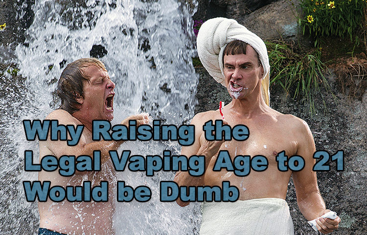 Why Raising the Legal Vaping Age to 21 Would be Dumb