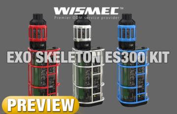 WISMEC's Strangest Yet, EXO Skeleton ES300 Full Kit - PREVIEW by Spinfuel VAPE Magazine