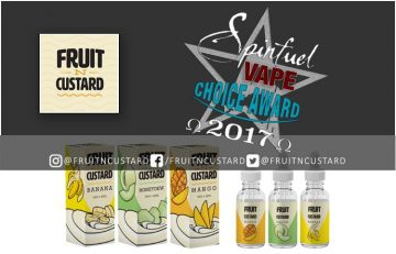 Fruit N Custard 3 Flavor Eliquid Review Spinfuel VAPE Magazine