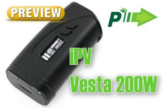Pioneer4You iPV Vesta 200W TC Box Mod Preview Spinfuel VAPE