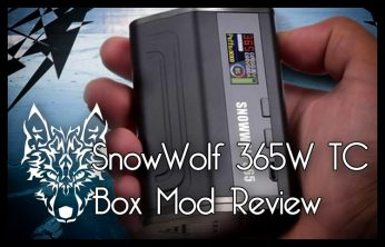 Sigelei SnowWolf 365W TC Box Mod Review Spinfuel VAPE Magazine