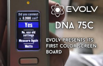 EVOLV DNA 75C Brings Color and More to New and Upcoming Mods - Spinfuel VAPE