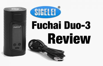 Sigelei Fuchai Duo-3 175W TC Box Mod Full Review - Spinfuel VAPE