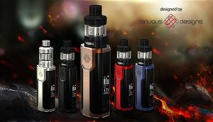 WISMEC Sinuous P80 Box Mod Kit Preview - Spinfuel VAPE Magazine