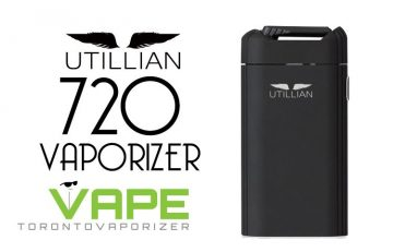 The Utillian 720 Vaporizer for Cannabis Consumption - Spinfuel VAPE Magazine