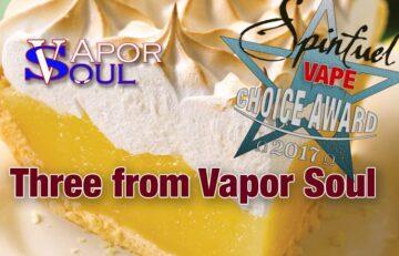 Budget Eliquid From Vapor Soul - A Spinfuel VAPE Eliquid Team Review
