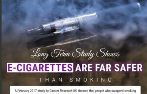 ancer Research UK Study Prove E-Cigarettes Safe – Infographic - Spinfuel VAPE Magazine