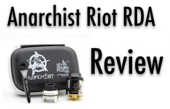 Anarchist Riot RDA – An In-Depth Review from Spinfuel VAPE