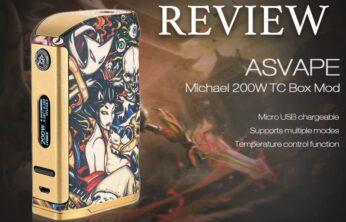 Asvape Michael 200W Mod (Devil's Night Edition) Review – Spinfuel VAPE Magazine