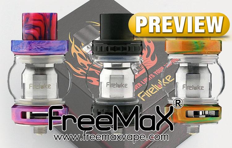 PREVIEW: FreeMax FireLuke Sub-Ohm Tank - Spinfuel VAPE Magazine