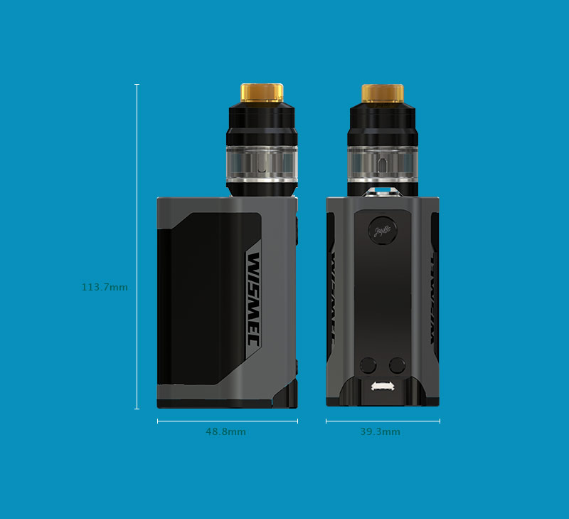 Wismec Reuleaux Rx Gen3 Kit Review Spinfuel Vape