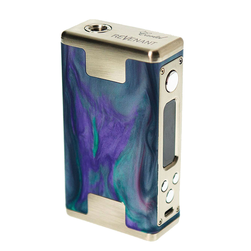 REVIEW: Revenant Vape Cartel 160W TC Box Mod - Spinfuel VAPE Magazine