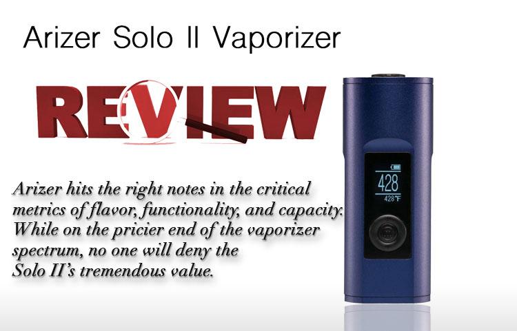 ... Arizer Solo 2 Vaporizer ...