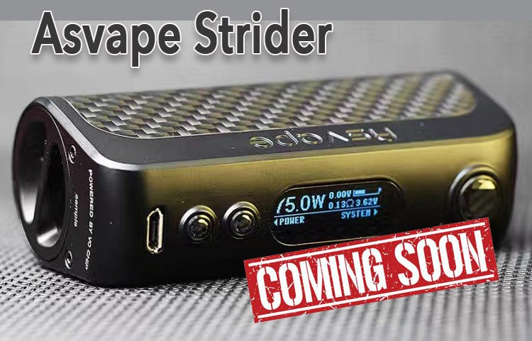 Asvape Strider 75W TC Mod - Spinfuel Vape