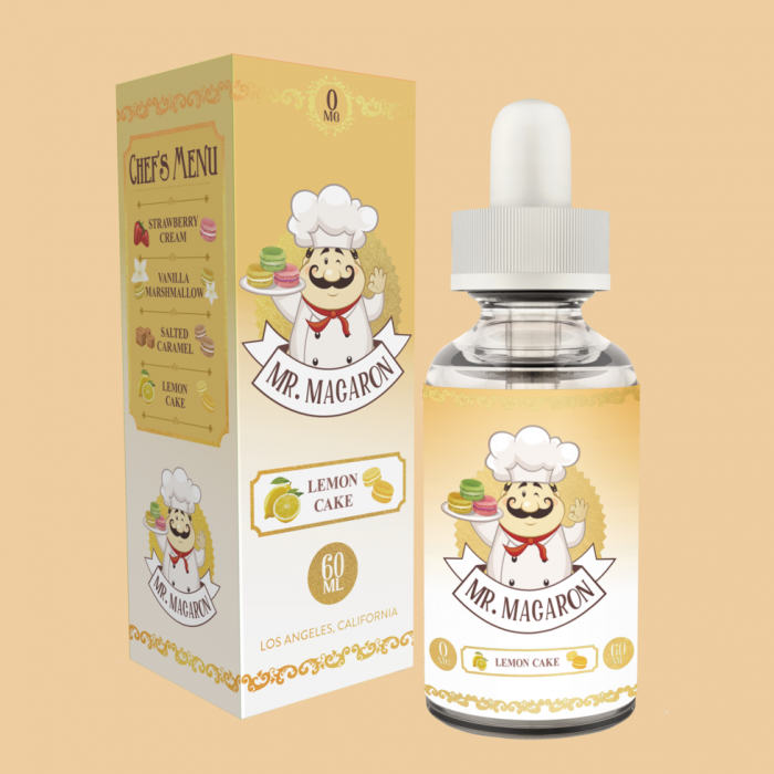Mr. Macaron Vapes Lemon Cake is the Real Thing! Spinfuel VAPE