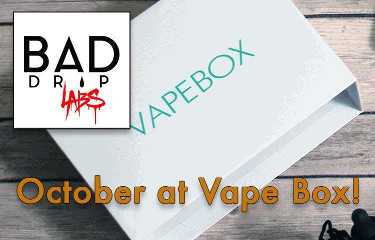 The October Vape Box Spectacular!