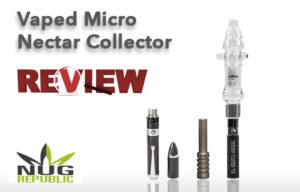 Vaped Micro Nectar Collector Review – Spinfuel VAPE