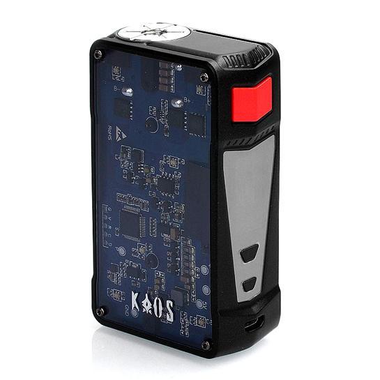 SIGELEI™ KAOS Z 200W TC BOX MOD PREVIEW – SPINFUEL VAPE