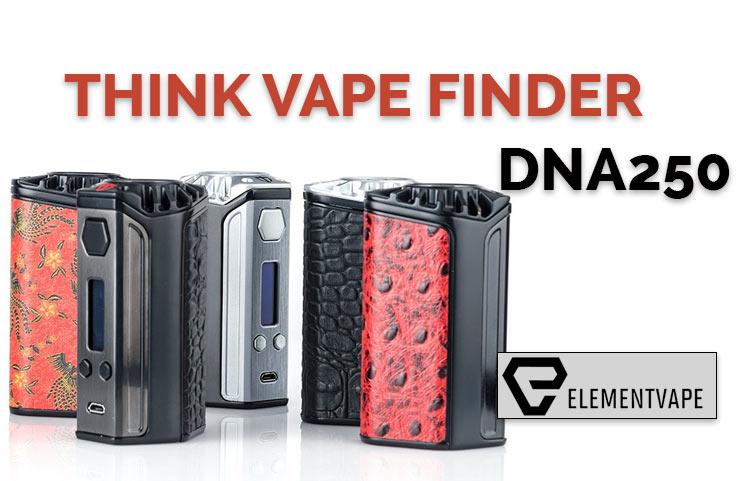 Think Vape Finder DNA250 TC Mod Preview – SPINFUEL VAPE