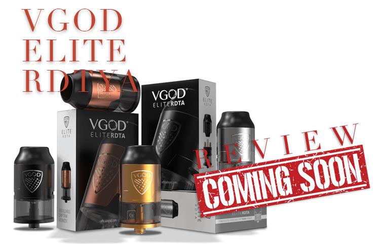 VGOD Elite RDTA Preview SPINFUEL VAPE