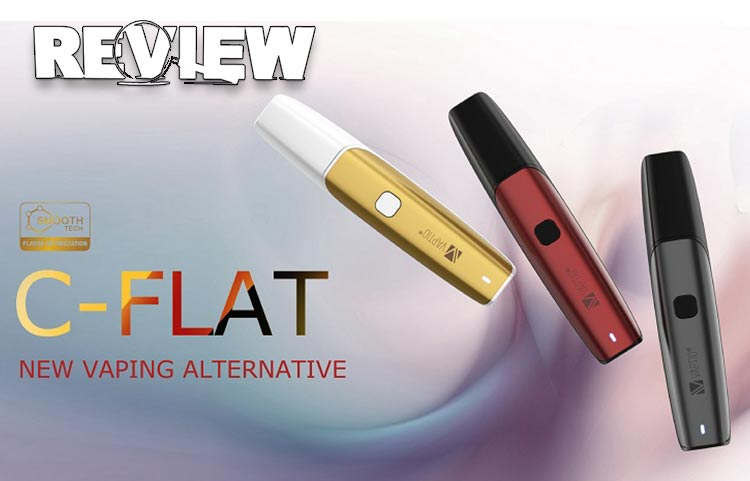 Vaptio C-Flat Pod Mod Kit Review – Spinfuel Vape