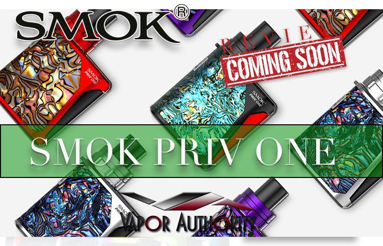 SMOK PRIV ONE STARTER KIT (AIO) PREVIEW – SPINFUEL VAPE MAGAZINE