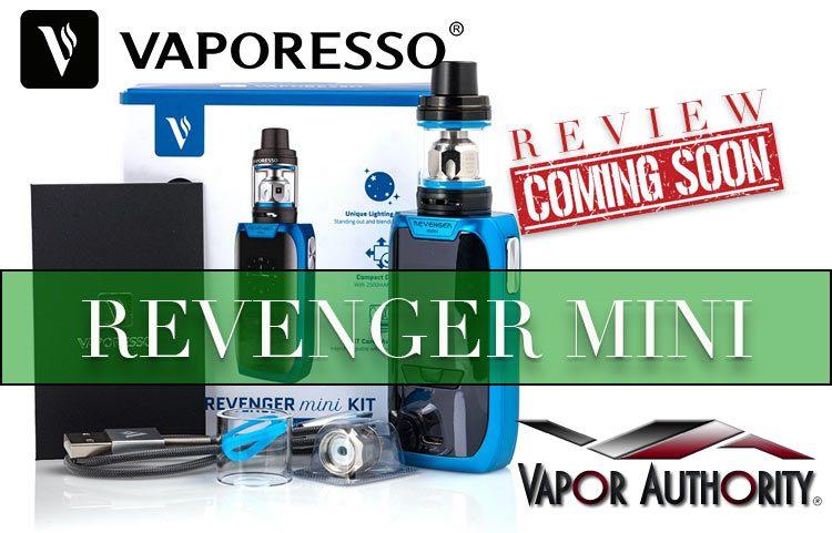 Vaporesso Revenger Mini Starter Kit (w/NRG SE Tank) Preview – Spinfuel VAPE