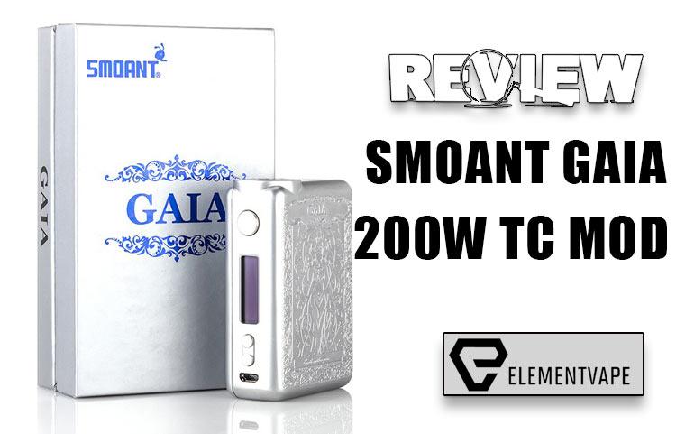 Smoant GAIA 200W Mod Review - SPINFUEL VAPE