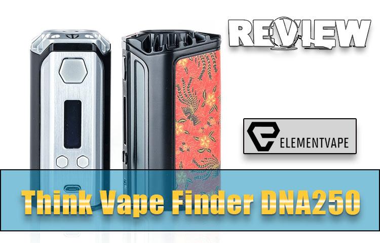 Think Vape Finder DNA250 Mod Review – Spinfuel VAPE
