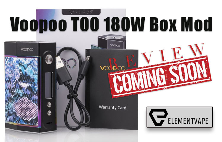 Voopoo TOO 180W TC Box Mod Preview – Spinfuel VAPE