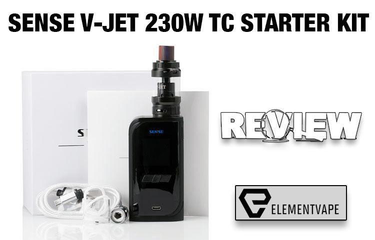 The Sense V-Jet 230W Kit Review – Spinfuel VAPE