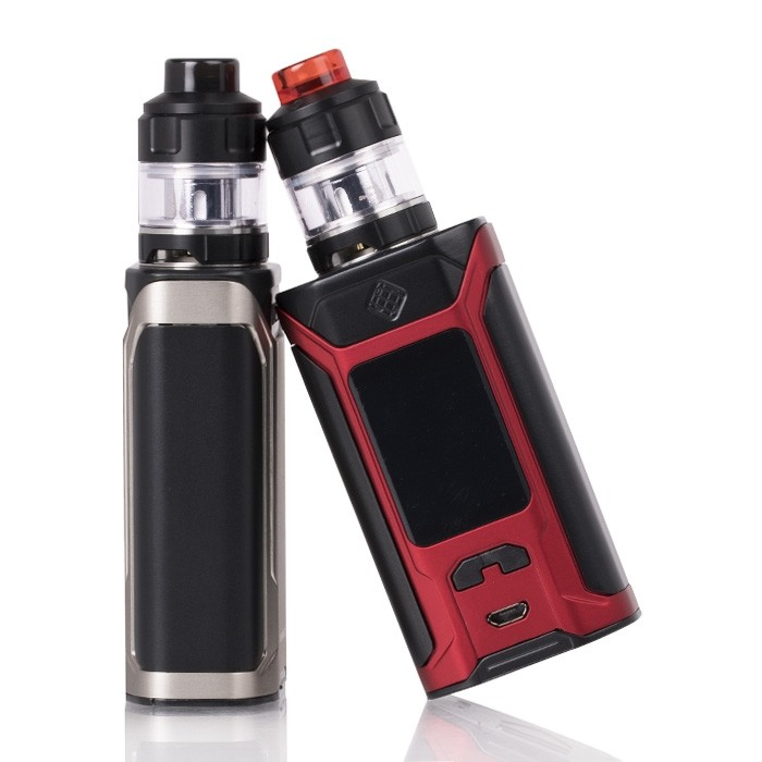 wismec_sinuous_ravage230_200w_tc_starter_kit_front_screen_and_button