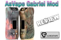 Asvape Gabriel 80W TC Stabilized Wood Box Mod Review - Spinfuel VAPE