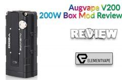 Augvape V200 200W Box Mod Review