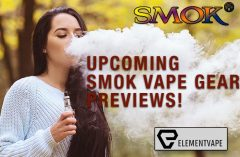 Some Upcoming SMOK Vape Gear Previews by Spinfuel VAPE and Element Vape