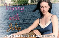 Vaping with Julia – Vape-Box Resa Stick H-PRIV 2