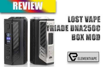 Lost Vape Triade DNA250C 300W Box Mod Review