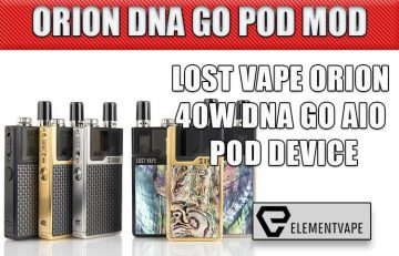 LOST VAPE ORION 40W DNA GO AIO POD DEVICE REVIEW