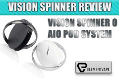 VISION SPINNER O AIO POD SYSTEM REVIEW Spinfuel Vape