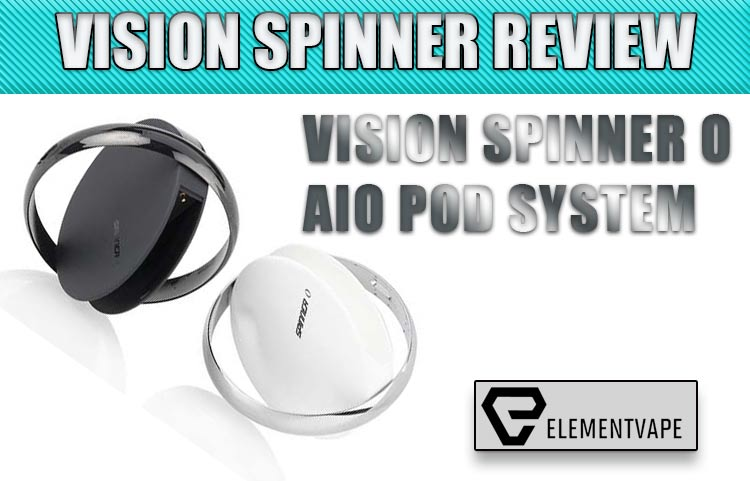 Vision Spinner O AIO Pod Mod System Review | Spinfuel VAPE