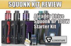 Aleader Bhive Squonk BF 100W Starter Kit