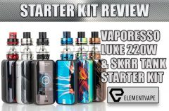 Vaporesso LUXE 220W & SKRR Sub-Ohm Review