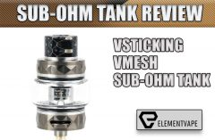 VSTICKING VMESH SUB-OHM TANK REVIEW by Spinfuel VAPE