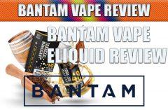 Bantam Vape eJuice Review by Spinfuel VAPE