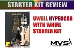 Uwell Hypercar 80W TC Starter Kit Review