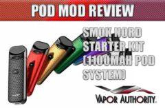 SMOK NORD Pod System Starter Kit Review