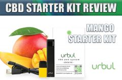 Urbul CBD Mango Flavored Starter Kit Review