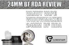 VANDY VAPE WIDOWMAKER 24MM BF RDA