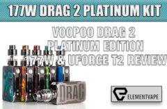 VOOPOO DRAG 2 177W & UFORCE T2 STARTER KIT